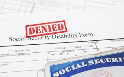 Top Five Reasons Why Disability Applications are Denied