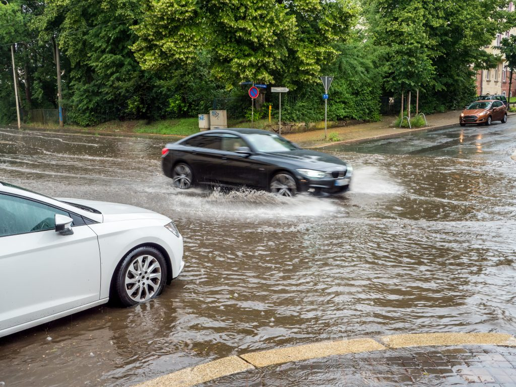 Avoiding Accidents on Flooded Roadways